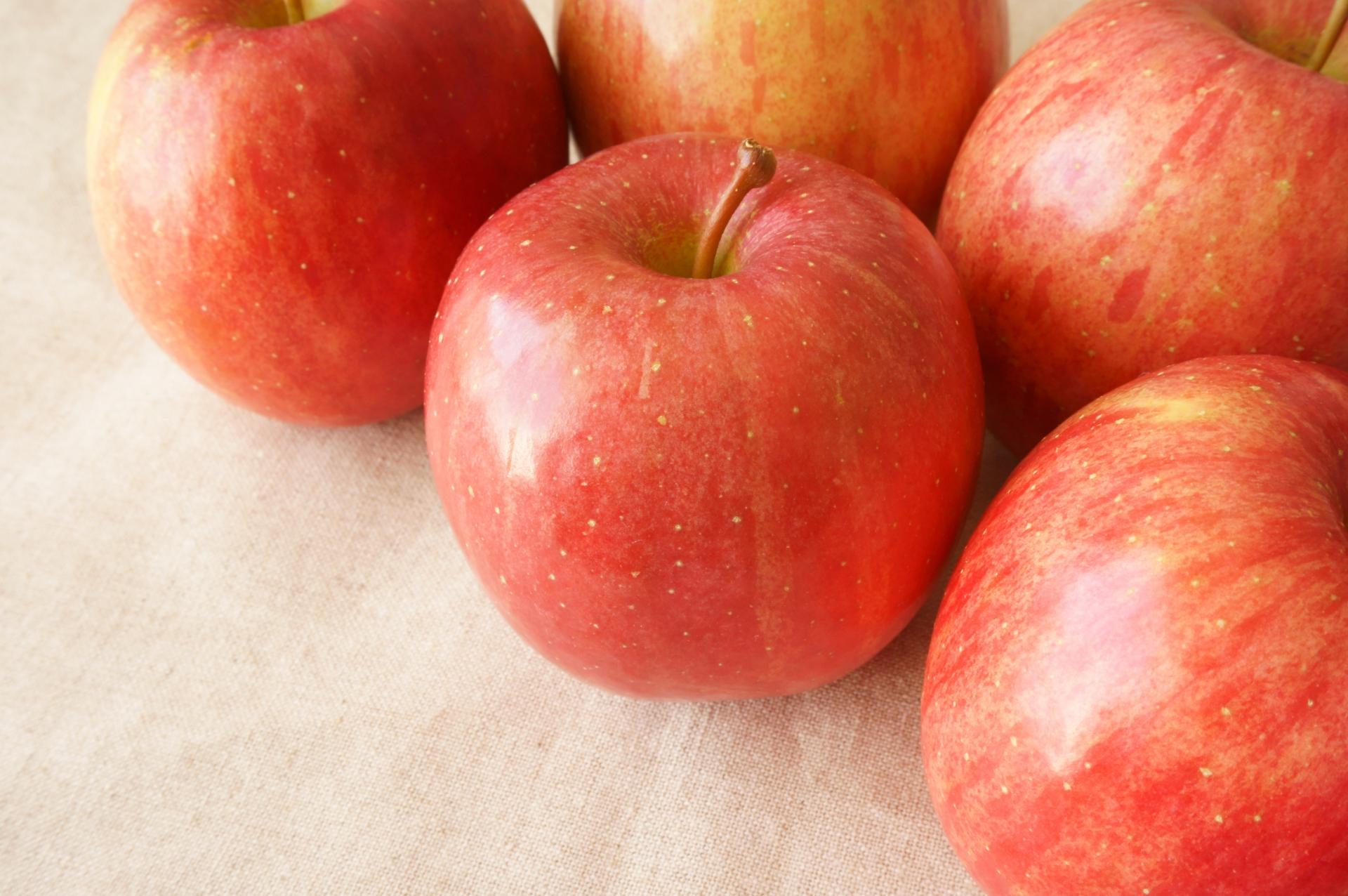 数個のリンゴ