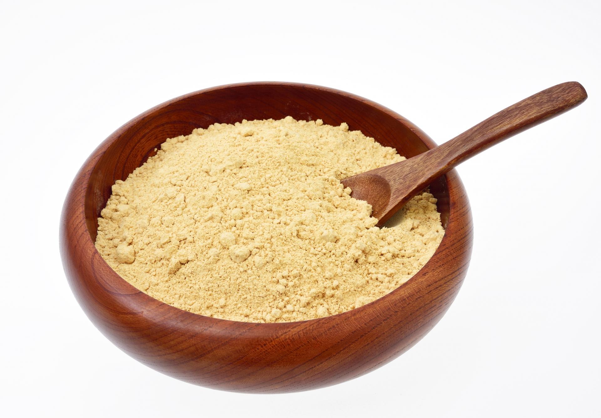 大豆イソフラボンが豊富に含まれる「きな粉」の薄毛効果の実力とは