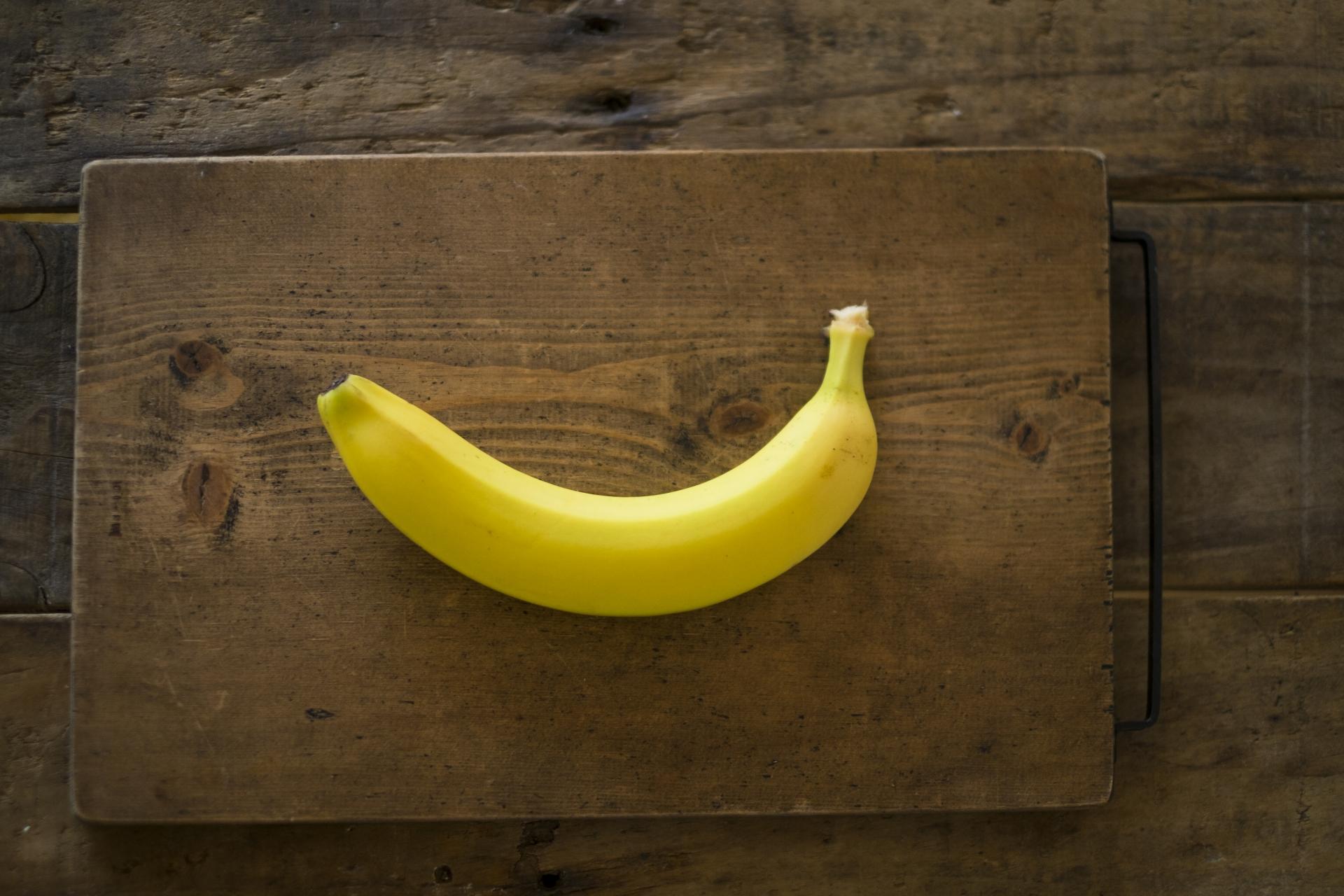 バナナを食べるタイミング